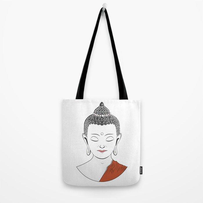 Life of Buddha Tote Bag