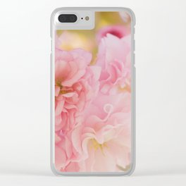 Softly Bloom Clear iPhone Case