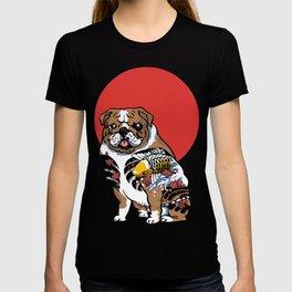 Yakuza English Bulldog T-shirt