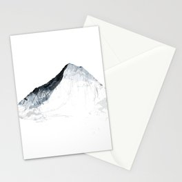 MOUNT EVEREST mountainsplash grey Stationery Cards