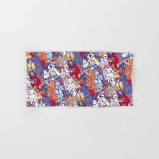 Smaller Space Toons in Color  Hand & Bath Towel