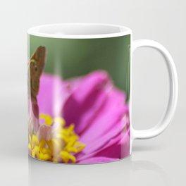 Skipper Butterfly In The Garden Coffee Mug