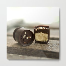 Chocolate cups II Metal Print