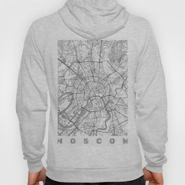 Moscow Map Line Hoody