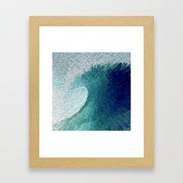 Big wave II Framed Art Print