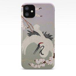 Japanese Crane iPhone Case