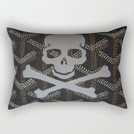 Goyard Skull Rectangular Pillow