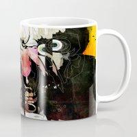 sandman Mugs featuring Frank by Alvaro Tapia Hidalgo