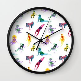 Ecoline party Wall Clock