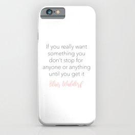 Blair Waldorf: Don't stop iPhone Case