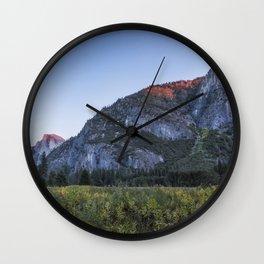 The Last Bit of Light Wall Clock