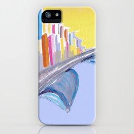 Passing Through iPhone Case
