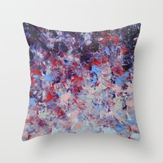 HYPNOTIC SAILOR'S SUNRISE - Stunning Sunset Sunrise Nature Beauty Plum Purple Magenta Ombre Throw Pillow