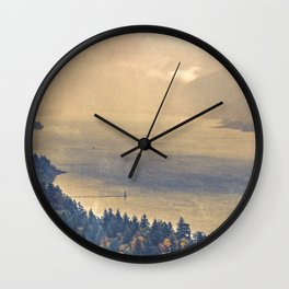 Classic Columbia Wall Clock