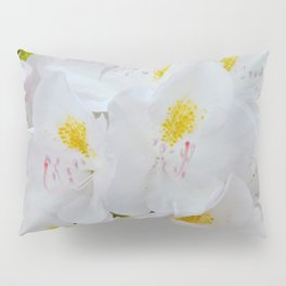 White Rhododendron by Teresa Thompson Pillow Sham