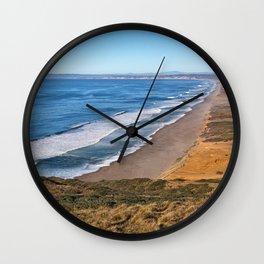 Point Reyes Coastal Scenery Wall Clock