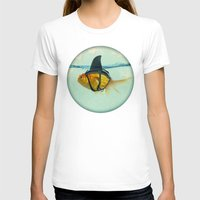fish T-shirts featuring Brilliant DISGUISE by Vin Zzep