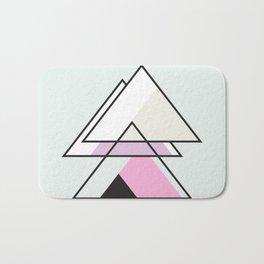 Minimalist Triangle Series 007 Bath Mat