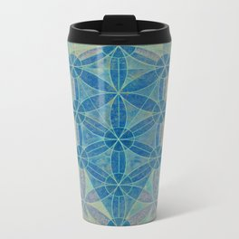Flower of life Metal Travel Mug