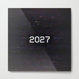 2027 Metal Print