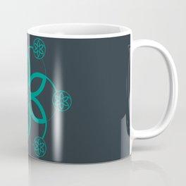 Evolution | Alien crop circle | Sacred geometry Coffee Mug