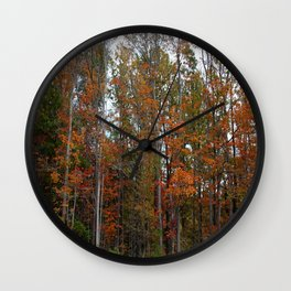 Colorful Cuyahoga Valley Wall Clock