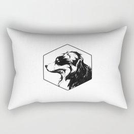 Canine Republic : Bernese Mountain Dog Rectangular Pillow