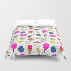 Growing Up in the 90s Duvet Cover