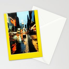 Americana - A rainy Day in Manhatten - NYC Stationery Cards