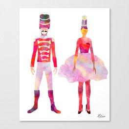Nutcracker Ballet Canvas Print