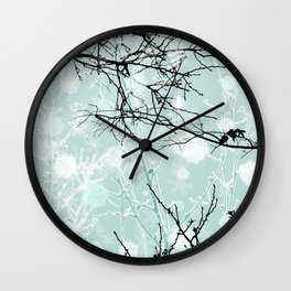 Winter Branches - Graphic Wall Clock
