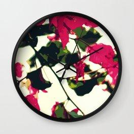 Bugambilia Santa Rita Wall Clock