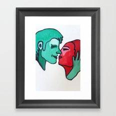 Togetherness 2 Framed Art Print