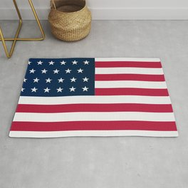 Union Side American Civil War Flag Rug