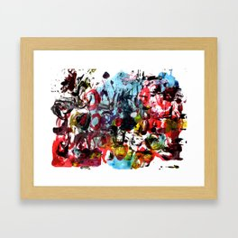 The Street Party 8  Framed Art Print