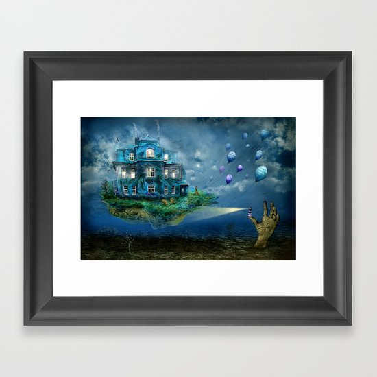 A journey with the wind Framed Art Print