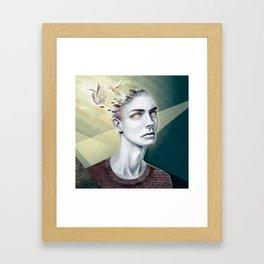 Paper Birds Dream Framed Art Print