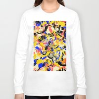 fight Long Sleeve T-shirts featuring Fight by Larionov Aleksey