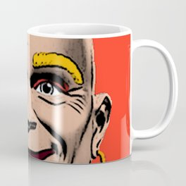 Mr Clean Pop Art on red background Coffee Mug