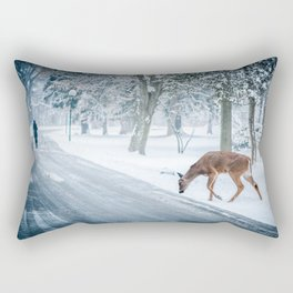 The chill of winter Rectangular Pillow