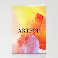 artpop Stationery Cards featuring ARTPOP  by IngCK