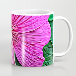 Pink Flowers of Diamond Essence Coffee Mug