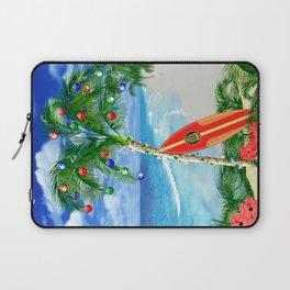 Beach Christmas Laptop Sleeve