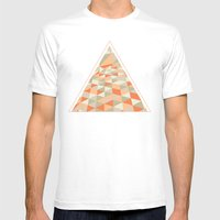 Triangulation MEDIUM Mens Fitted Tee White