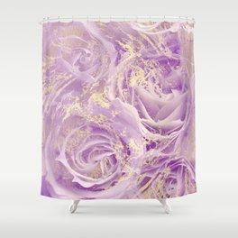 rose fragrance Shower Curtain