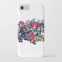 kingdom hearts iPhone & iPod Cases featuring Kingdom Hearts by Jaimie Hutton