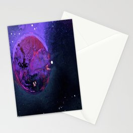 Fall Of Krypton Stationery Cards