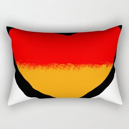 German Heart Rectangular Pillow