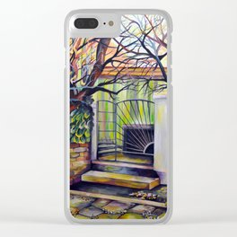 Surreal memories Clear iPhone Case