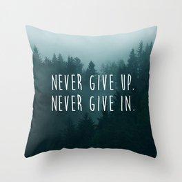 Midnight Forest Throw Pillow